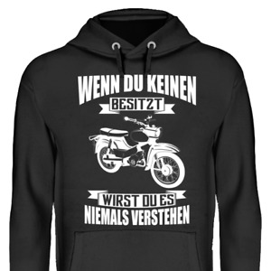 Wenn du keinen besitzt Simson Star Hoodie Kapuzenpullover Geschenk DDR Lustig