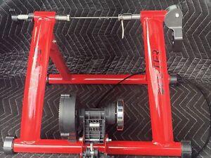 Deuter Indoor Exercise Bike Trainer 6 Speed Magnetic Resistance Mint Condition