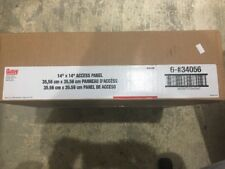 New Box Of 6 Oatey 34056 14-Inch by 14-Inch Access Panel 35.56cm x 35.56cm F/S