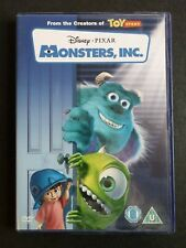MONSTERS INC (VERY GOOD CONDITION REGION 2 DVD)