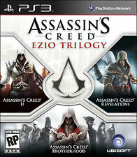 Assassin's Creed: Ezio Trilogy (Sony PlayStation 3, 2012)