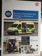Car Brochure - 2006 Vauxhall Movano Ambulance - UK