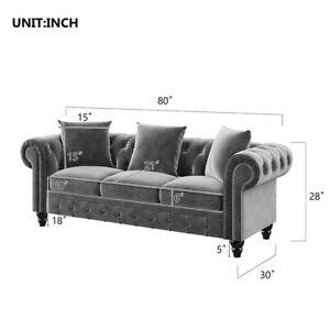 Nordic Sectional Sofa Set Velvet Backrest apartment chaise Furniture Comfortable