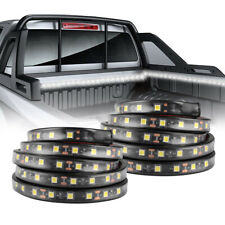 2Pcs 60 Inch White LED Cargo Truck Bed Light Strip Lamp Waterproof Lighting Kit