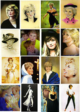 DIANA PRINCESS OF WALES  IN ART- 60 ALL DIFFERENT A6 ART CARDS painting repros