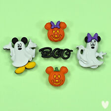 Disney Mickey & Minnie Ghosts 7925 Dress It Up Buttons - Witches Halloween