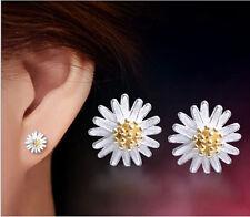 Mujer Aretes Joyería Pendientes Daisy margarita Earrings Joyas Ear Stud