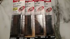 Rimmel London Brow This Way (Brow sculpting Kit) 3 different Shades .03/.04 oz.
