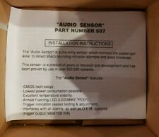 Audio Sensor Part Number 507 Automobile Security systems Nos