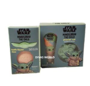 Star Wars Bath Fizzer Duo Mandalorian The Child Shower Set Christmas Gift Xmas