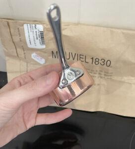 Mauviel M'Minis M'150 Copper Saucepan with Lip 5cm Ex Display