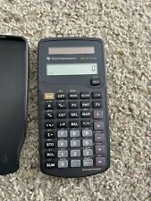 Texas Instruments Ba-35 Financial Calculator Solar Powered