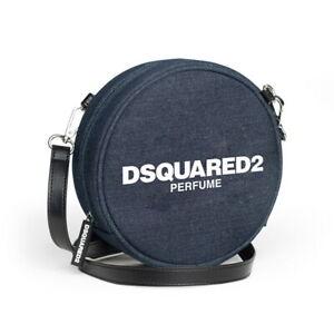 Dsquared2 Perfume Navy Blue Round Bag / Crossbody Bag