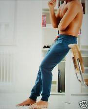 CECEBA Hausanzughose XXL/56 blau Jersey Homewear Klimaaktiv Freizeithose Hose