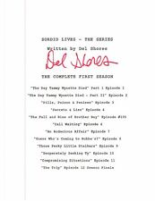 SORDID LIVES SEASON 1 SCRIPTS SET OF 12 with SIGNED cover by DEL SHORES!