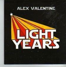 (CV514) Alex Valentine, Light Years - 2010 DJ CD