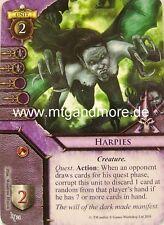 Warhammer Invasion - 2x Harpies  #024