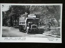 POSTCARD RP LONDON TRANSPORT BUS NO NS13 (XN 1786) ON ROUTE 65A C1928