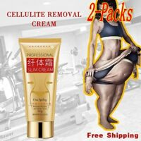 2PACKS CELLULITE REMOVAL CREAM FAT BURNING SLIMMING CREAM MUSCLE RELAXER
