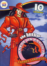 The Best of Where on Earth Is Carmen Sandiego: 10 Episodes (DVD, 2012) * NEW *
