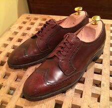Church's For Brooks Brothers Brown Shortwing Half Brogue Shoes Wingtip 7.5 C