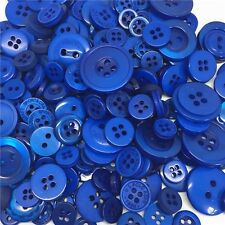Jesse James Buttons ~ Dress It Up  ~ 1,000+  BLUE ~ ROUND SEWING BUTTONS CRAFTS