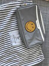 ANYA HINDMARCH 'Smiley' makeup bag Clutch