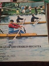 Head-Of-The Charles Regatta Program 1977
