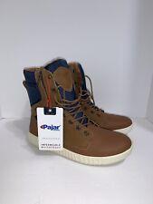 Pajar Canada Men's Winter Boots Waterproof Brown Leather