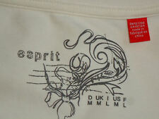 ESPRIT CreamStretch95%CottonMixS/sWrap SizeM as NEW
