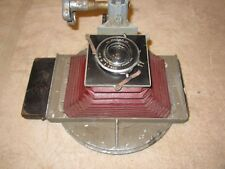 ANTIQUE VINTAGE R&J CAMERA APPARATUS WITH WOLLENSAK RAPAX LENS