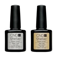 Cnd Shellac Base And Top Coat. Pack Of 2 For £11.99