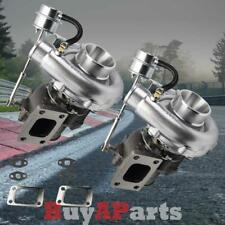 2x T3/T4 V-Band 700+ HP Boost Upgrade Racing Turbo Charger w/Internal Wastegrate