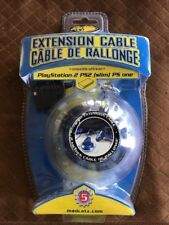MadCatz Extension Cable Playstation 2 PS2 New Sealed