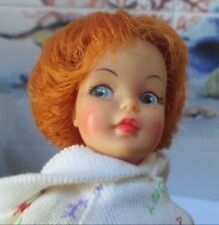 RARE 1963 TAMMY FAMILY~CARROT TOP *PEPPER* DOLL~PRETTY FACE~NO HEEL DENTS~OUTFIT