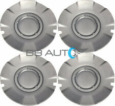 2004-2007 CHEVROLET SILVERADO SS SILVER WHEEL HUB CENTER CAPS SET OF 4 NEW