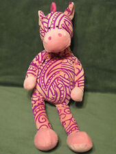 HTF Fiesta Hennatude TATTOO Pink Plush PONY/HORSE Stuffed Animal Tribal Design