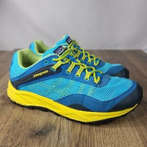 Patagonia Womens Specter Ultra Marine Blue Trail Running Hiking Shoes Size 7