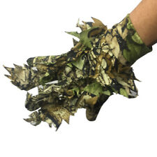 3D Leaf Sneaky Ghillie Glove Hunting Camo Glove for Jungle Woodland Stealth