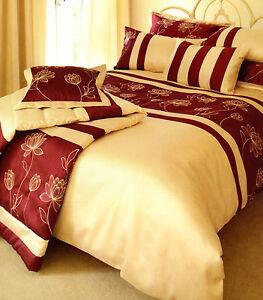 Tulipa Single Duvet Set Includes Pillowcase. Magenta