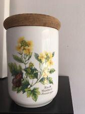 royal worcester Storage Jar