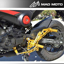 Motorcycle Adjustable Rear Sets Foot Pegs For Honda Grom MSX 125 2013 2014 2015