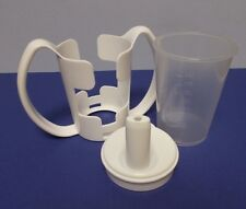 Click Cup, Lid and Two Handled Holder