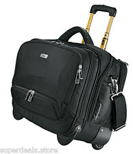 "High Sierra Integral Deluxe Wheeled 17"" Laptop / MacBook Business Bag - Black"