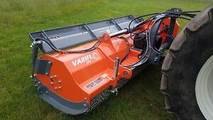 Alpha variflo XHD240+ Flail mower, tractor mount flail mower