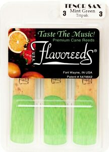 Flavoreeds - Tenor Saxophone Strength 2 reeds 3 pack - Various flavours