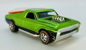 1970 RARE DEAD MINT Redline SEASIDER Apple Green White Over Red Boat Chevy WOW!!