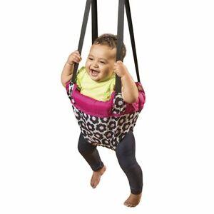 Evenflo Johnny Jump Up Marianna Door Doorway Baby Jumper Jump Up Exerciser N...