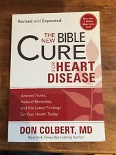 THE NEW BIBLE CURE FOR HEART DISEASE - DON COLBERT (PAPERBACK) NEW Book