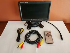 7'' inch TFT LCD Color Screen Car Rear View Camera DVD VCR Monitor For CCTV US